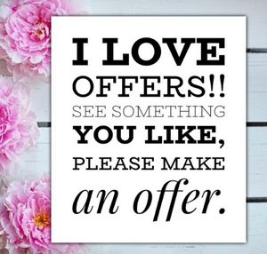 I 😍 OFFERS!